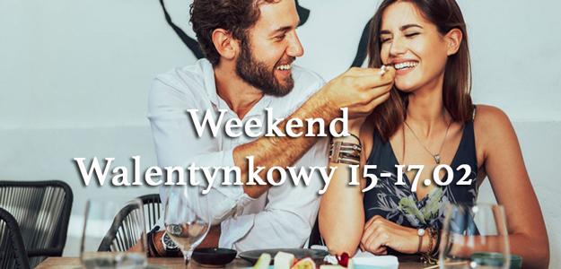 Weekend walentynkowy w Pałacu Hanza 15-17.02.