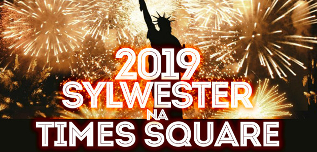 Sylwester 2018 na Times Squere! Już od 1299 zł/os/pakiet