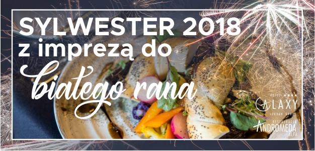 Sylwester 2018 i kolacja 6 zmysłów PIOTRA TUŹNIKA