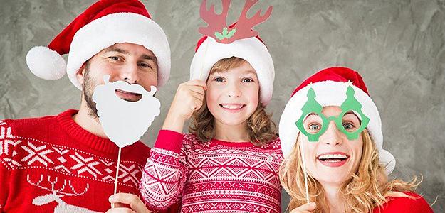 Rodzinne Boże Narodzenie nad morzem