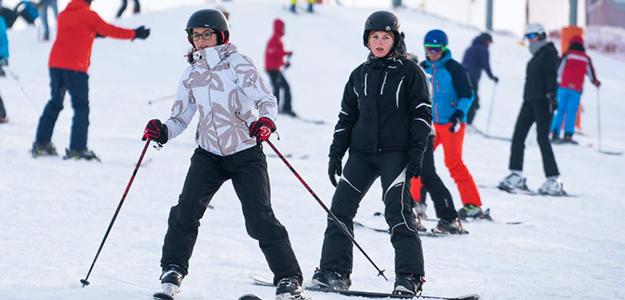 Mazurskie ferie zimowe na nartach.
