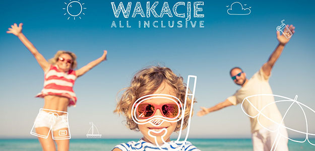 Wakacje all-inclusive. Do 31.03.2020 -20% rabatu.