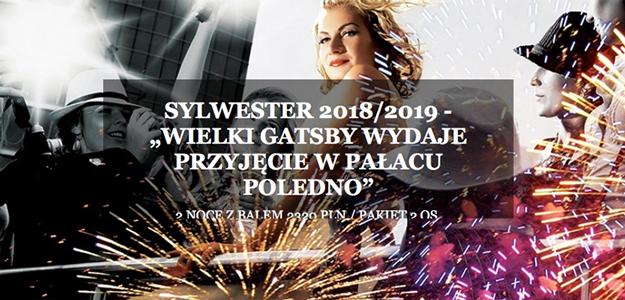 Sylwester 2018 - Wielki Gatsby wydaje przyjęcie w Pałacu Poledno