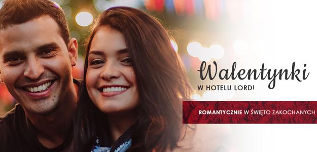 Walentynki w Hotelu Lord już od 185 zł/2 osoby!
