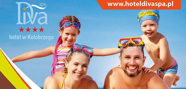 Rodzinne wakacje w Hotelu Diva SPA. Rabat do 35%!