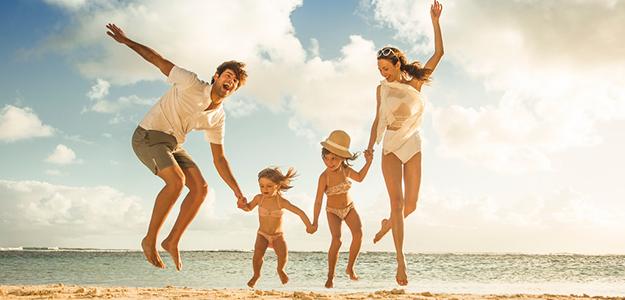 Rodzinna majówka nad morzem