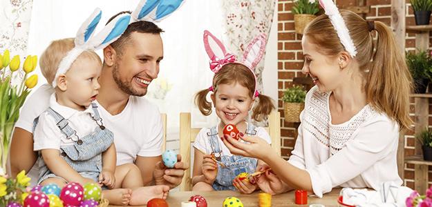 Rodzinna Wielkanoc na Mazurach.