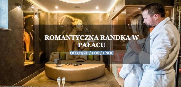Romantyczna randka w Pałacu Poledno.
