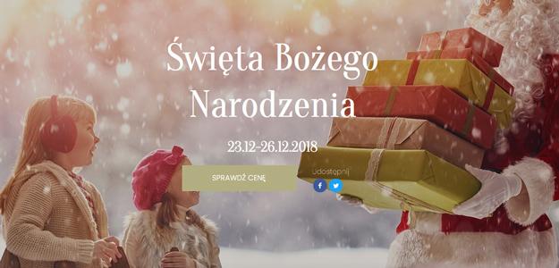 Święta Bożego Narodzenia w Pałacu Hanza****