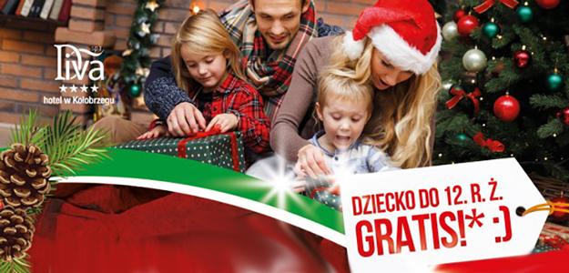 Boże Narodzenie w Kołobrzegu. Dziecko do 12 lat GRATIS!