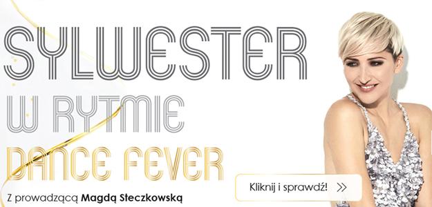 Sylwester w rytmie Dance Fever z Magdą Steczkowską!