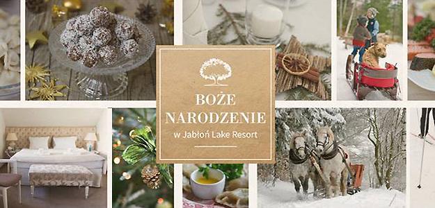 Boże Narodzenie na Mazurach w Jabłoń Lake Resort