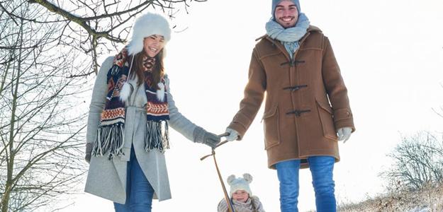 Rodzinne ferie zimowe na Mazurach